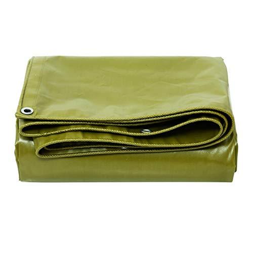 TIDLT Bâche en Tissu imperméable épais avec revêtement en PVC pour Voiture Taille : 5 x 8 m