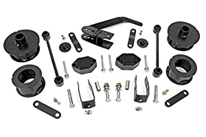 "Rough Country 2.5"" Suspension Lift Kit for 07-18 Jeep Wrangler and Wrangler Unlimited JK - 635,Series 2"