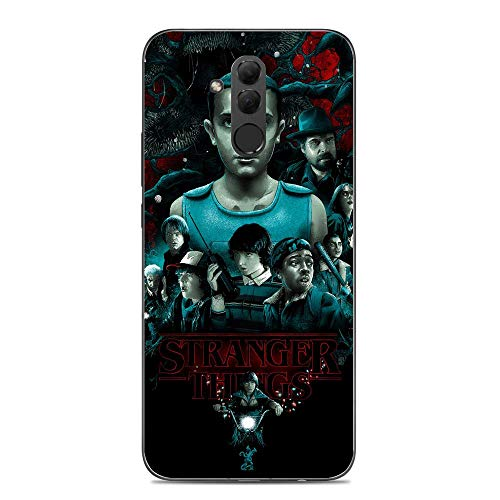 A-Legend Ultra Thin Coque Lightweight Anti-Skid Clear Soft Flexible Gel TPU Case Cover For Huawei Mate 20 Lite-Stranger-Things Eleven Joyce 8