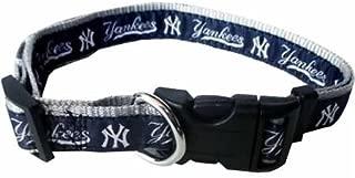 MLB NEW YORK YANKEES Dog Collar, Small