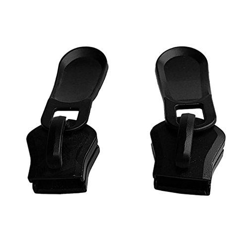 Sharplace 2 Pcs Résistant à L'usure Métal Zipper Kit De Réparation Zipper Slider Remplacement Fit Pour # 20 Zipper