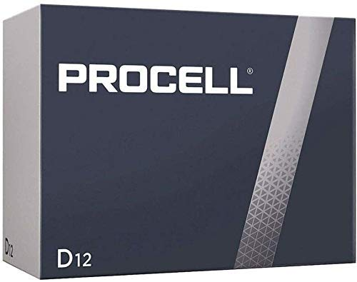 Duracell D12 Procell Professional Alkaline Battery, 12Count