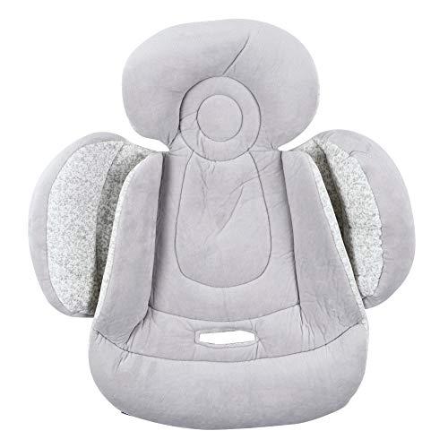 HelloCreate Cojín transpirable para asiento de bebé, cojín de apoyo para la cabeza del niño, cojín para cochecito de coche