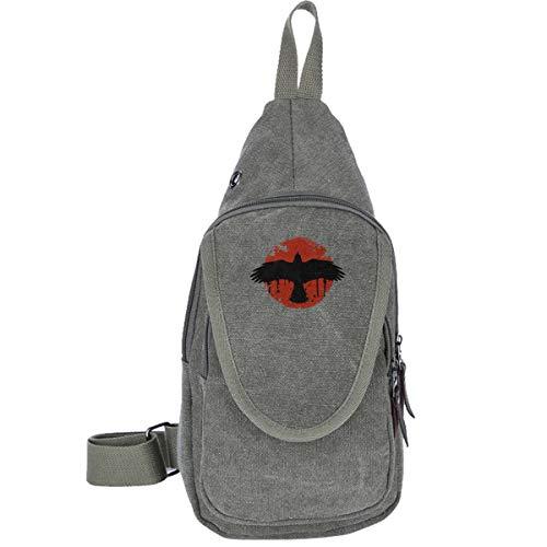 AHISHNF Before The Storm Chloe Nyar Life is Strange Reise-Brusttasche für Herren und Damen, Mehrzweck-Tagesrucksack, Wandern, Schultertasche