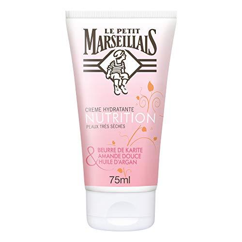 Le Petit Marseillais Cold Cream Argan-Butter, Bienenwachs & Rosenblütenöl, 75 ml, 1 Stück