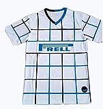 夏の半袖メンズシャツ20/21シーズンイタリアイブラヒモビッチマッチトレーニングサッカースポーツウェア-White-M