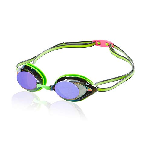 Speedo Unisex-Adult Swim Goggles Mirrored Vanquisher 2.0