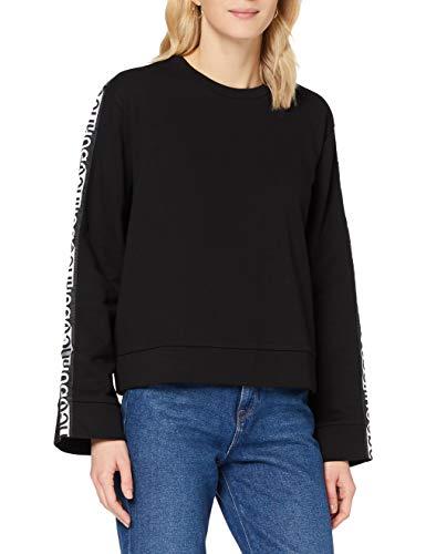 HUGO Damen Dalara 10231132 01 Sweatshirt, Black1, XL