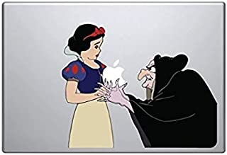 Snow White and Witch Wicked Holding Apple MacBook Pro Vinyl Decal Sticker Apple For 13 inch