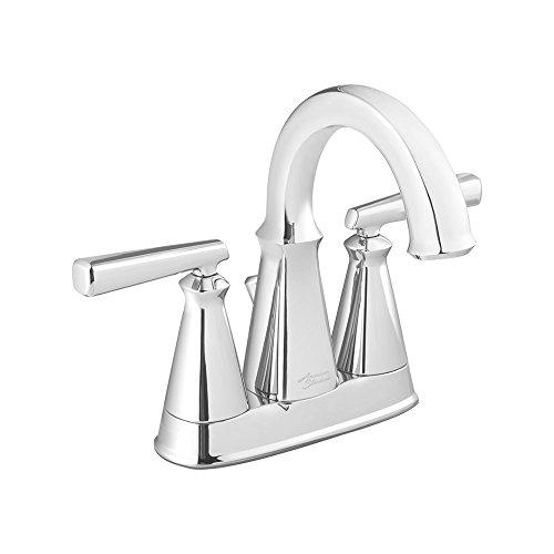 American Standard 7018201.002 Edgemere Centerset Bathroom Faucet, 4', Chrome