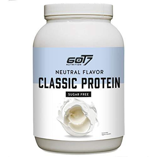 Got7 - Classic Protein Eiweiß Proteinshake Eiweißshake Whey Molkeprotein Muskelaufbau Fitness Kraftsport Bodybuilding - Natural Flavor - 1200g