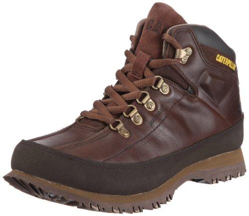 Cat Footwear RESTORE P713365 - Zapatos de cuero para hombre, Marrón, 43