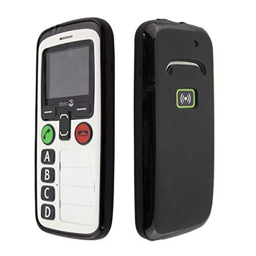 caseroxx TPU-Hülle für Doro Secure 580 / 580IUP, Handy Hülle Tasche (TPU-Hülle in schwarz)