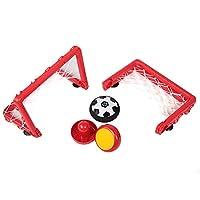 エアパワーサッカーセット、フラットサーフェスエアロダイナミクスキッドサッカーセットは、脳の発達を促進します安全で興味深い旅行の女の子の家の男の子