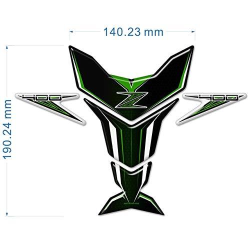 CHENWEI- Motorrad-Aufkleber-Behälter-Auflage-Schutz-Emblem for Kawasaki Z400 Z650 Z750 Z800 Z900 Z1000 SX (Color : Z400)