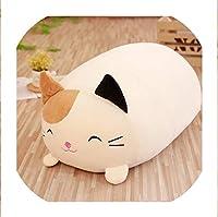 1ピース30/60センチかわいいコーナーバイオ枕日本アニメーションすみっコぐらしぬいぐるみぬいぐるみソフトバレンタインギフト用女の赤ちゃんギフト、30センチ、猫