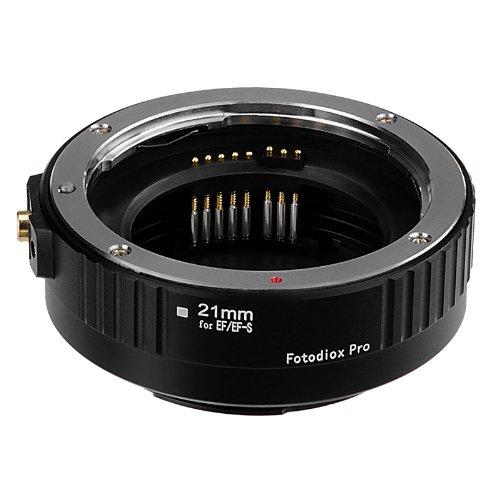 Fotodiox Pro Anillo Macro Auto 21mm (Auto Macro Tube 21mm Section) para Cámaras Canon EOS