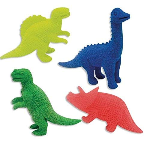 Rayher 69060000 Ratze fun-Set Dinos, 4 verschiedene Motive, PVC-Box 4S