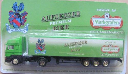 Markgrafen Getränkemarkt Nr.11 - Aufsesser Premium Bier - Man F2000 - Sattelzug