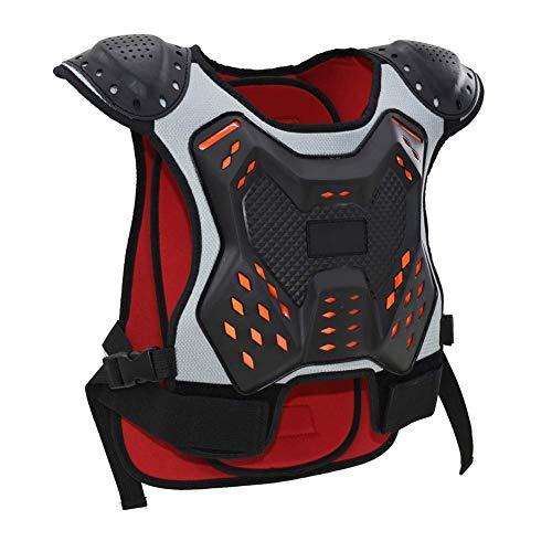 Harness Schutz Kinder Moto Schutz Brust gegen den Fall von Armored,L
