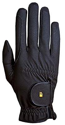 Roeckl Roeck-Grip Unisex Gloves 7.5 Black from TOKLAT ORIGINALS