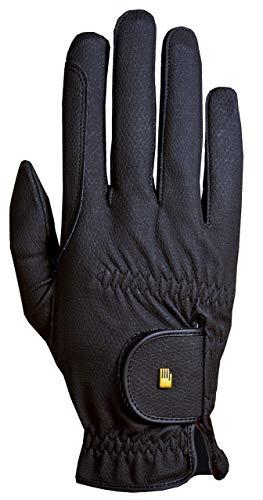 Roeckl Roeck Grip Handschuh, Unisex, Reithandschuh, Schwarz, Größe 7,5
