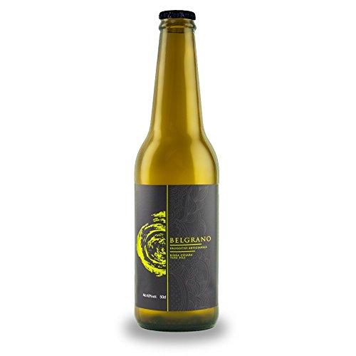 Box 15 bottiglie 50cl birra artigianale chiara'Belgrano' tipo Pils
