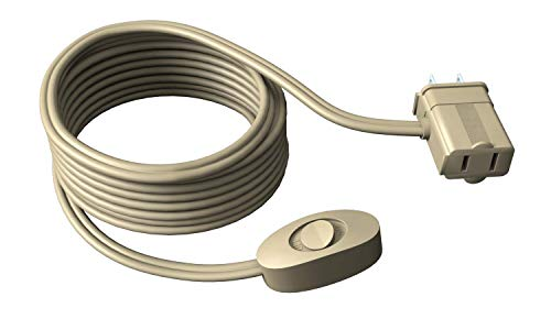 Stanley 31324 CordMax Switch Polarized Extension Cord with Handy On/Off Switch, 10-Feet, Beige