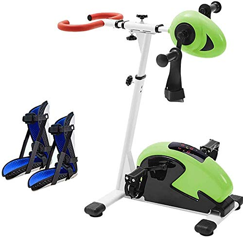 YLLN Electric Rehabilitation Bike Stationärer Pedal-Fahrradtrainer, Hemiplegie-Training Arm- und Knieübungen, Physiotherapie für Behinderte und Schlaganfall-Überlebende, Einstellbarer Widerstand