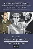 Antes del gran susto: 19º Episodio de 'Crónica de medio siglo: del FRAP a Podemos, un viaje por la historia reciente con Ricardo Acero y sus compañeros'