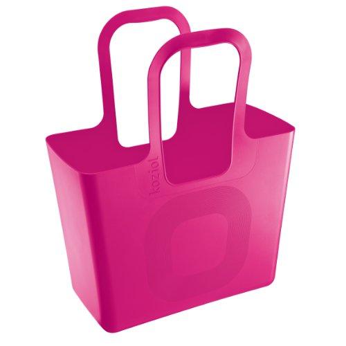 Koziol 5414525Tasche aus Kunststoff, 21,5x 44x 54cm bonbon-rosa