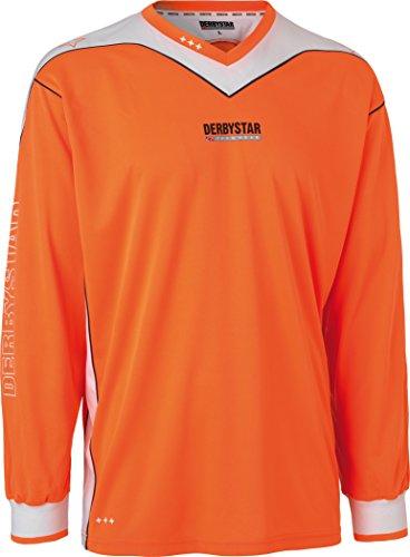 Derbystar Torwarttrikot Brillant, 164, orange weiß, 6614164710