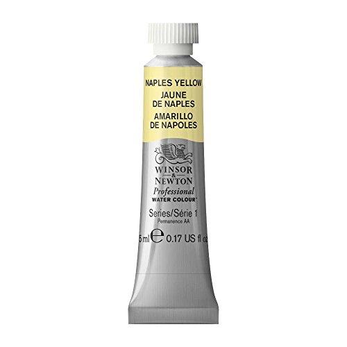 Winsor & Newton Professional Water Colour Paint, 5ml tube, Naples Yellow