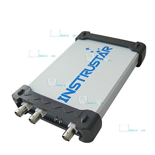 Osciloscopio virtual digital, equipo de prueba para PC con USB, 4 en 1, 2canales, 40MHz, 100MS/s, analizador de espectro, DDS y barrido