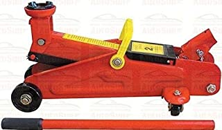 AutoSun for Universal 2 Ton Professional Trolley Hydraulic Jack (Red)