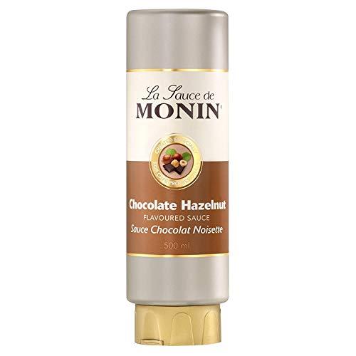 Monin Schokolade-Haselnuss Dicke Sauce 0,5l