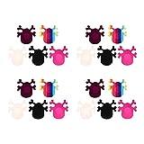 Healifty 10 Paia Nipple Covers Usa E Getta Patè Raso di Auto- Adesivo Invisibile Reggiseno Nippleless Copertura per Le Donne