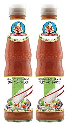 Healthy Boy Sukiyaki Sauce, 2er Pack (2 x 300 ml)