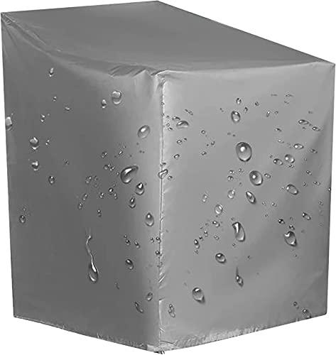 KAKTT Fodere per mobili da Esterno, Set di sedie da Giardino rettangolari Impermeabili, Fodere protettive, copridivano per Veranda con Custodia, 190X190X100cm/75X75X39in