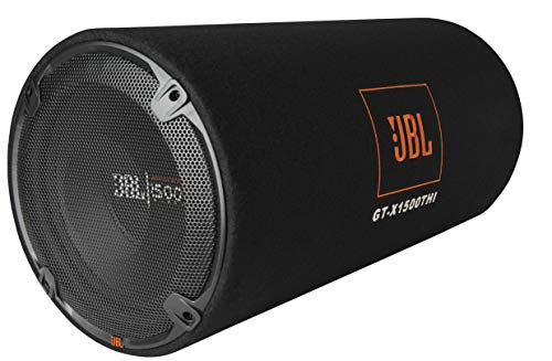 JBL GT-X1500THI 12-inch 1500 Watts Subwoofer in a Bass-Reflex Tube Enclosure (Black)