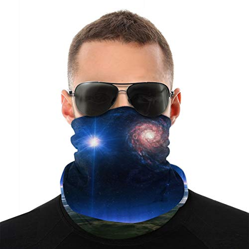 NA Space Monitors Line Staley Room Technology Sci-fi Science Gezicht Masker Sjaal Naadloze Bandanas Hoofdband Multifunctionele Balaclava Hoofddeksels Nekmaat voor stof, Outdoor, Sport Festivals