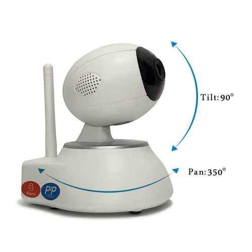 Cámara de Vigilancia Wifi,Todas funciones por APP,Fácil de configurar,para Seguridad,Cámara IP Interior,Grabación en la nube opcional,Remota Alarma Compatible con iOS y Android para Bebé,Mascotas,Ancianos,etc.