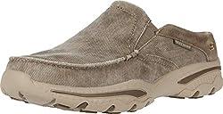 small Skechers Creston Men's Slip-On Loafers Khaki US10 Medium