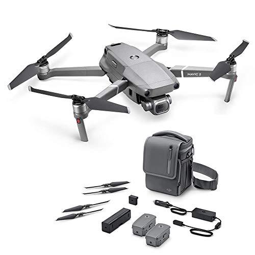DJI Mavic 2 Pro Fly More Combo, Drohne mit Hasselblad HDR Video Kamera und Zubehör-Kit