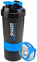 FUNVCE Protein Shaker Bottle Sports Water Bottle Shaker Cups for Gym Drinking Bottle Mixer Shake Water Bottles 28oz 650 ml Estimated Price : £ 11,99