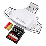 Micor SD Card Reader,BOYMXU Tf Card Reader iPad Android MacBook Computer,Memory Card Reader