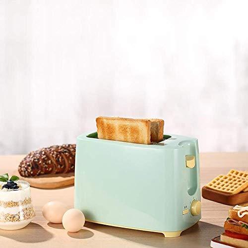 Adesign 2 Slice Toaster, Acero Inoxidable Tostadora Tostadora Bagel Bagel función de cancelación, Ranuras Extra Anchas, Bandeja de residuos desplegable 650W,