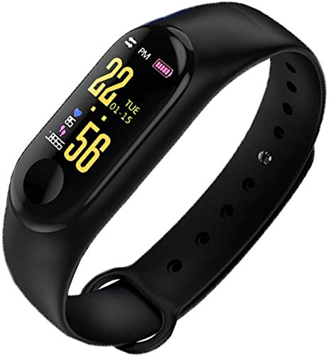 Cabriza GV68 Fitness Technology Smart-Band with Heart Rate/Sleep Monitoring/Digital Dial Watch Compatible...