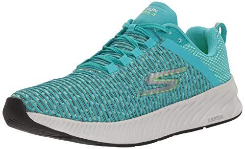 Skechers Go Run Forza 3 para mujer, Azul (Verde azulado), 38 EU