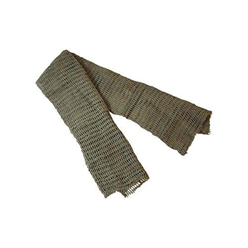 Army Green Camouflage Scrim Net Scarf (struts-2018) by Struts Fancy Dress